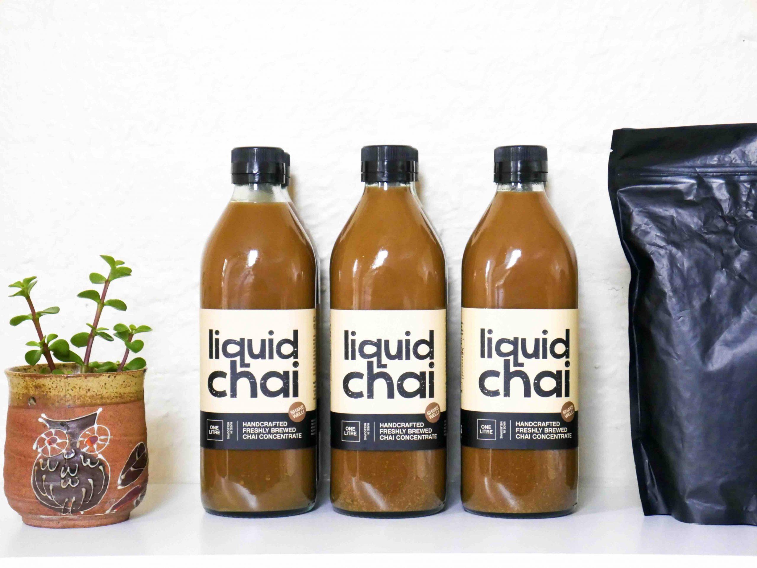 chai concentrate 1L wholesale