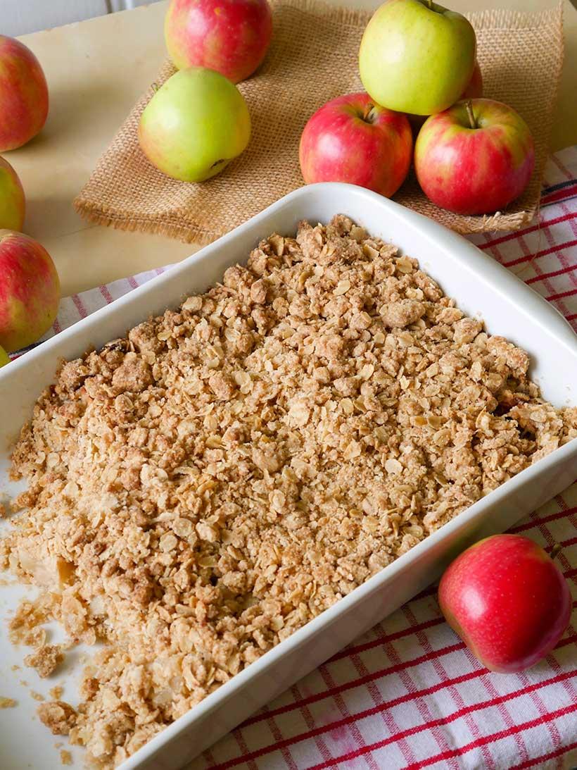apple-crumble-vegan